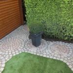 Garten mit Kunstrasen Green Paradise