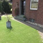 Kunstrasen für den Vorgarten