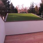 Kunstrasen Green Paradise als Dachflächenbegrünung