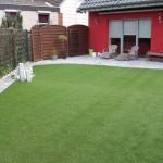 Kunstrasen Green Paradise im Garten