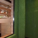 Wandverkleidung mit Kunstrasen Green Easy