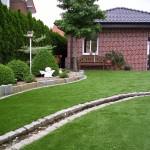 Kunstrasen Green Natural für den Garten