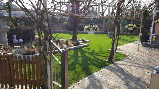 kunstrasen green picasso für den garten