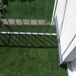 Kunstrasen Green Mellow auf Dachterrasse