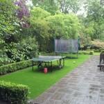 Kunstrasen Green Enjoy unter Spielgeräten
