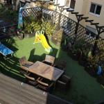 Kunstrasen Green Natural auf Dachterrasse