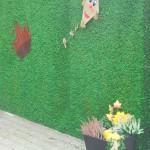 Kunstrasensichtschutz Herbst
