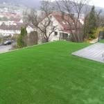 Garten mit Kunstrasen Green Natural