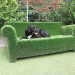 Kunstrasen Sofa