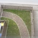 Vorgarten vorher ohne Kunstrasen