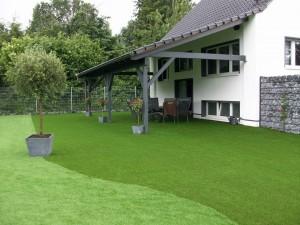 größter Kunstrasen Showgarten Deutschlands in Recklinghausen